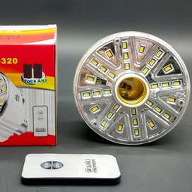 Lampu Emergency LED @ Aoki Premium AK-320 32 SMD + Remote + Fitting