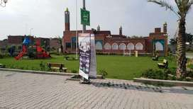 Marla plot for sale in Al Kabir Town Lahore Good and Prime Location.