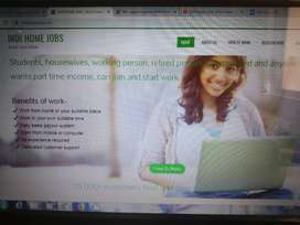 work part time from home, no investment
