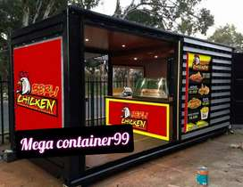 Booth container booth bazar booth container gerobak kayu booth roti