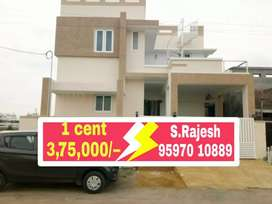 IT PARK near Dtcp residential plots for sale at saravanampatty