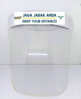 face shield jaga jarak anda / face shield murah