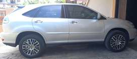 TOYOTA HARRIER 2.4G AT 2008 SILVER