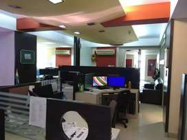 Fully furnished office  on rent in vashi