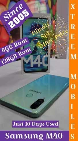 Samsung M40..Just 10 Days Used..