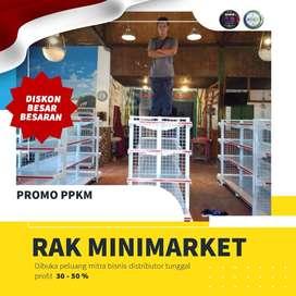 Promo murah gondola  jual rak minimarket