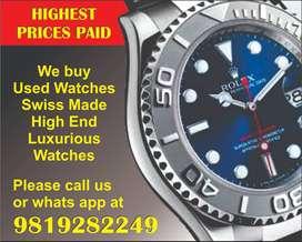 Rolex Submariner Patek, Audemars,Vacheron, Omega Watch