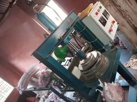 One Time Paper Plate Machine