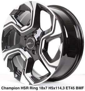 Velg CHAMPION HSR R18X75 H5X114,3 ET45 BMF