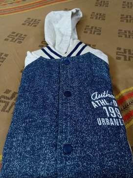 New SPUNK Cotton Hooded Sweatshirt