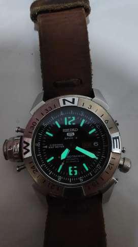 jam tangan Seiko 5 automatic map meter murah