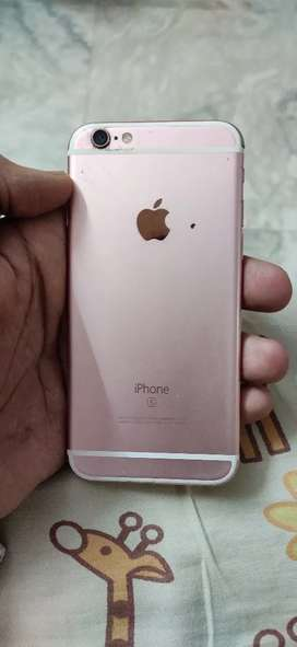 I phone 6s 64 pink color running condition