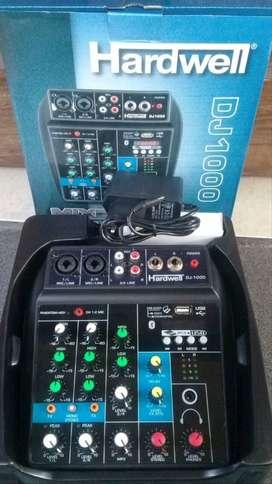 mixer audio profesional oryginal hardwell dj1000 BLUETOOTH