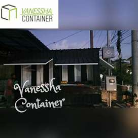 BOOTH SEMI CONTAINER / CONTAINER COFFEE SHOP / CONTAINER USAHA KULINER