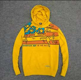 Hoodie uniqlo x keith harring