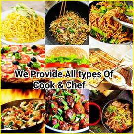 Required:-Indian Chinese Cook, All Rounder Cook, Fast Food Cook,Waiter