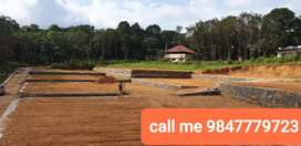 BEST PLOTS BELOW 1 LAKH PER CENT NEAR PONKUNNAM PAMPADY ROUTE