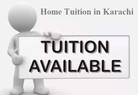 Home Tuition is Available