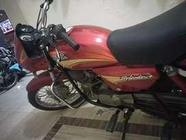 Splender motorcycle
