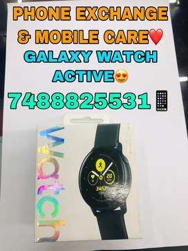 Samsung Galaxy Watch Active Black Colour Available