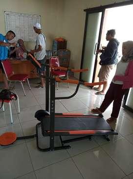 Treadmill manual dua fungsi TM-002 AG
