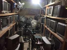 Tv tabung 14/21/29/34 inchi /kipas angin