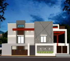2bhk Semi Furnished Premium villas @Thudiyalur