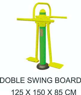 Double Swing Board Alat Fitness Outdoor Murah