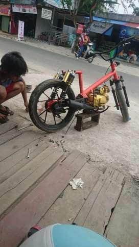 Motor astrea modif sepeda Bmx