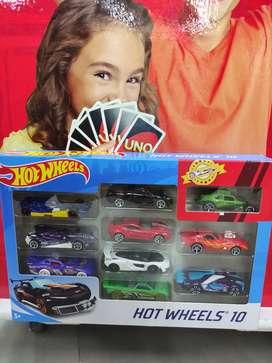 Hotwheels isi 10