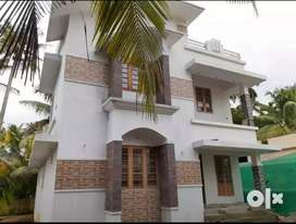 3 bhk 1300 sqft 4.5 cent new build at aluva kottappuram  road 300 mtr