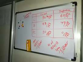 Magnetic Whiteboard 3x2 feet Available For Sale In Good Condition