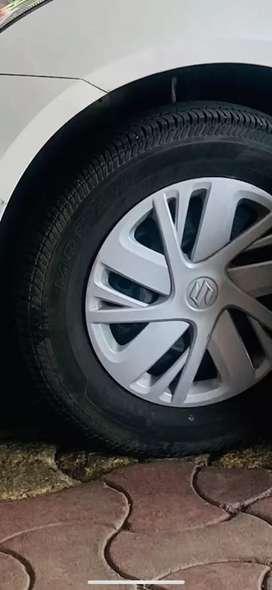 Swift 14 inch rim with tyre rare use tyre running 25k km