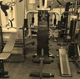 Alat gym fitness home gym 1 sisi life sport fitness