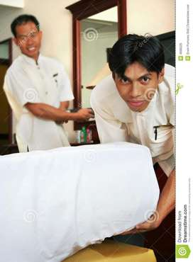 Looking for (House keeping/Gents )20 members for a Star Hotel in MRC N