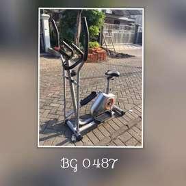 Sepeda Statis Elliptical Bike // Halmadri AJ 11U18
