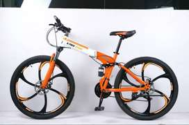 X-Trex Foldable Cycle with 21 Speed Gears and Anti-Rust Paint