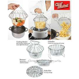 12-In-1 Kitchen Tool Chief Basket ,Cooking ,Easy Fryer