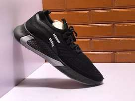 Black Stylish Sports joggers, Sneakers easy for all Gender.
