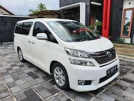 Fast sale Toyota VELLFIRE V Premium sound 2012 khusus kredit