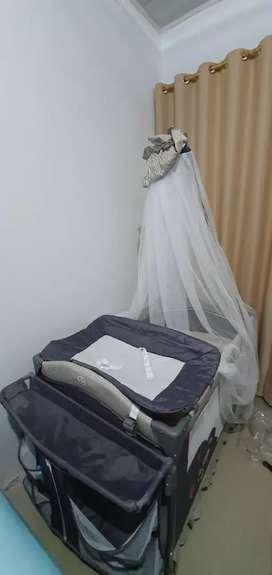 Jual tempat tidur Bayi Plico