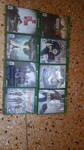 XBOX ONE Games CD,S Original Used Brand new Condition used only 1 time