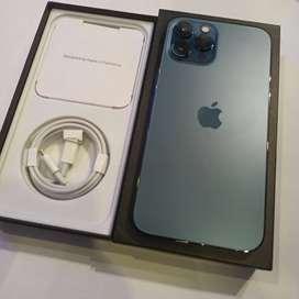 Iphone 12 pro max 256gb pasific blue fullset