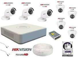 Hikvision Brand New 4CCTV Combo Offer