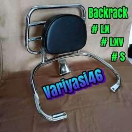 Backrack Modern Vespa LX,LXV Dan S.Aksesoris Modern Vespa