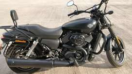 Harley Davidson Street 750 With Free Acessiores