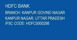 Hdfc bank job 2 Vacancie available only Experience candidate apply
