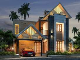 Traditional Gated Community  villas in Ottapalam Town, Palakkad