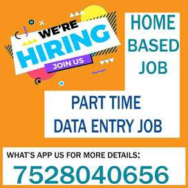 VACANCY AVAILABLE FOR PART TIME JOB !! HURRY UP !! GRAB OPPORTUNITY
