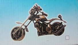 Pure Metal Motorcycle for home decoration